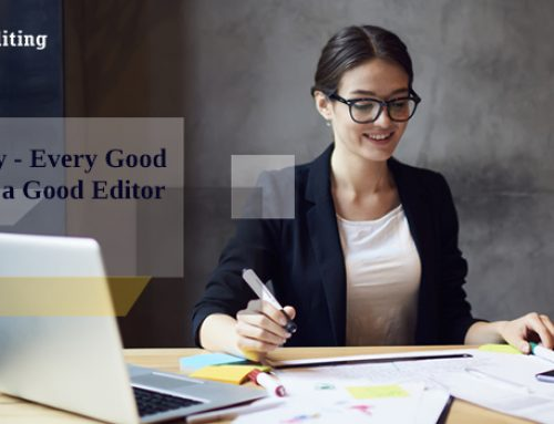 It's Mandatory – Every Good E-Book Needs a Good Editor