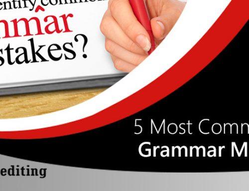 5 Most Common ESL Grammar Mistakes